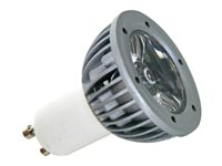 1W LED LAMP - COLD WHITE (6400K) - 230V - GU10