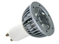 1W LED LAMP - WARM WHITE (2700K) - 230V - GU10
