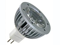 1W LED LAMP - COLD WHITE (6400K) - 12VAC/DC - MR16