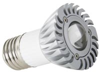 3W LEDLAMP - WARM WIT (2700K) - 230V - E27