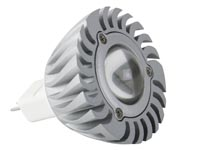 3W LED LAMP - WARM WIT (2700K) 12VAC/DC - MR16